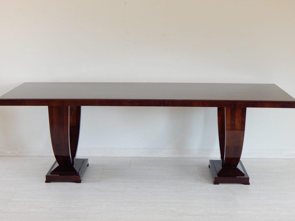 Art Deco étkezőasztal, 10 személyes